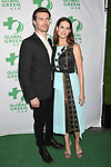 LOS ANGELES, CA - FEBRUARY 22: Actors Noah Bean (L) and Lyndsy Fonseca arrive at the 14th Annual Global Green Pre-Oscar Gala at TAO Hollywood on February 22, 2017 in Los Angeles, California.