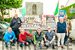 Listowel  publicans : Front: Gordon Flannery, Mike Brosnan, Seanie Briderick, Terry Dunn, & Gerry Behan. Back ; Liam canty, Aidan O'Connor & Christy Walsh;