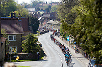 Picture by Shaun Flannery/SWpix.com - 05/05/2018 - Cycling - 2018 Tour de Yorkshire - Stage 3: Richmond to Scarborough - Yorkshire, England - The Peloton makes it's way through Thornton le Dale.