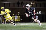 Orange, CA 02/28/09 -  Mike Clayton (Chapman #9) and Jordan Kirshner (Michigan #33)