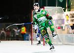 Stockholm 2014-12-02 Bandy Elitserien Hammarby IF - IFK V&auml;nersborg :  <br /> Hammarbys Stefan Erixon jublar under matchen mellan Hammarby IF och IFK V&auml;nersborg <br /> (Foto: Kenta J&ouml;nsson) Nyckelord:  Elitserien Bandy Zinkensdamms IP Zinkensdamm Zinken Hammarby Bajen HIF IFK V&auml;nersborg jubel gl&auml;dje lycka glad happy