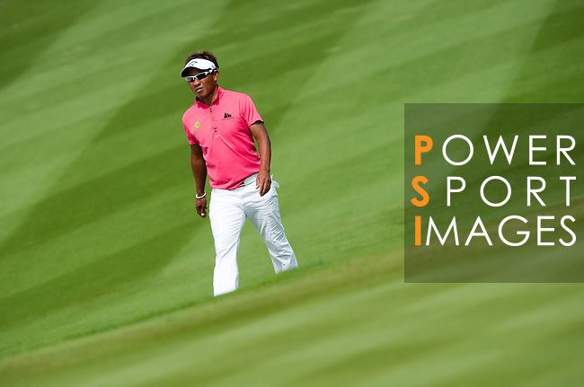 Action during the final day of The 56th World Cup of Golf 2011 - Held at Mission Hills - China - Photo by © Victor Fraile / The Power of Sport Images