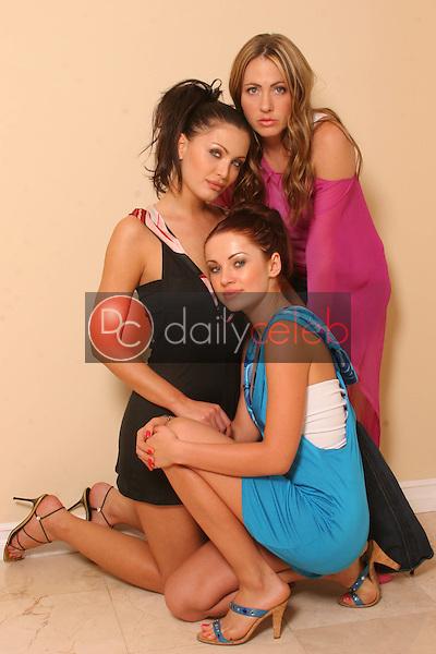 Abi Ferrin, Ksenia Linkova and Katia Jones