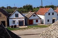 Wine cellars of Hajos (Hajós) Hungary