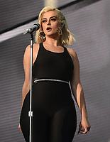 SAN FRANCISCO, CALIFORNIA - AUGUST 11: Bebe Rexha performs during the 2019 Outside Lands Music And Arts Festival at Golden Gate Park on August 11, 2019 in San Francisco, California. Photo: imageSPACE/MediaPunch