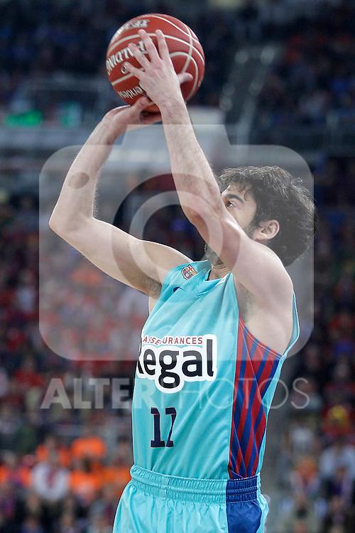 FC Barcelona Regal's Juan Carlos Navarro during Spanish Basketball King's Cup semifinal match.February 07,2013. (ALTERPHOTOS/Acero)