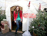 Duchess of Cambridge during a visit to Peterley Manor Farm