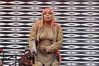 LONDON, ENGLAND - JUNE 3: Tionne Watkins of 'TLC' performing at Mighty Hoopla, Brockwell Park, Brixton on June 3, 2018 in London.<br /> CAP/MAR<br /> &copy;MAR/Capital Pictures