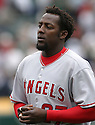 Vladimir Guerrero, of the Los Angeles Angels , during their game against the Oakland A's  on April 23, 2006 in Oakland...A's win 4-3..Rob Holt / SportPics