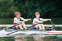 Race: 148 J2x Heat - Wallingford RC  vs Oxford City <br /> <br /> Henley Women's Regatta 2017<br /> <br /> To purchase this photo, or to see pricing information for Prints and Downloads, click the blue 'Add to Cart' button at the top-right of the page.