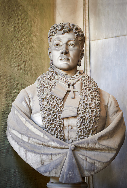 Picture and image of the stone sculpture in the Realistic style of Matildo Serra. The monumental tombs of the Staglieno Monumental Cemetery, Genoa, Italy