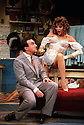 Paul Bentley,Joan Collins in Over The Moon opens at The Old Vic Theatre on 15/10/01  pic Geraint Lewis