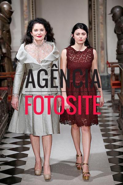 Milao, Italia &ndash; 02/2014 - Desfile de Luisa Beccaria durante a Semana de moda de Milao - Inverno 2014. <br /> Foto: FOTOSITE