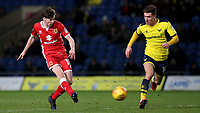 Conor McGrandles of MK Dons in action during Oxford United vs MK Dons, Sky Bet EFL League 1 Football at the Kassam Stadium on 1st January 2018