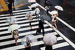 Tokyo, June 26 2013 -  Rainy day.