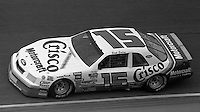 Brett Bodine Daytona 500 at Daytona International Speedway in Daytona Beach, FL on February 14, 1988. (Photo by Brian Cleary/www.bcpix.com)