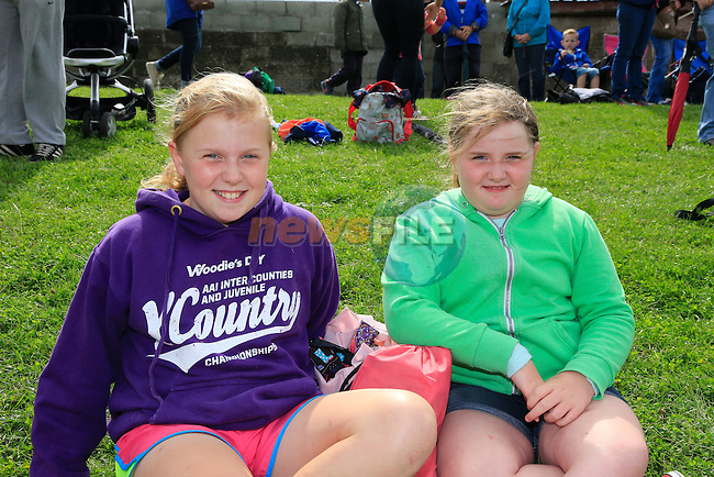Ashling Matthews and Chloe Matthews at the Boyne Ac Sports Day.<br /> Picture: Fran Caffrey www.newsfile.ie