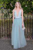 Suki Waterhouse at The Serpentine Gallery Summer Party 2015 at The Serpentine Gallery, London.<br /> July 2, 2015  London, UK<br /> Picture: Dave Norton / Featureflash