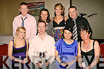 Prize winners: Netting some prizes at the Kerry Badminton Association Annual Prize Night/Social in the Manor West Hotel, Tralee on Friday nigh