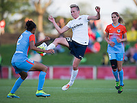 Boyds, MD - May 14, 2016: The Washington Spirit defeated the Houston Dash 1-0 during their National Womens Soccer League (NWSL) match at the Maryland SoccerPlex.