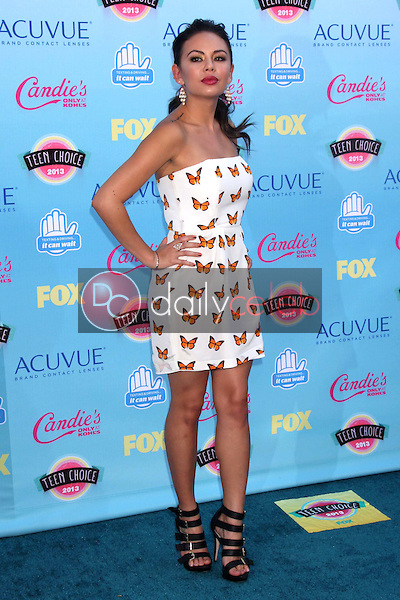 Janel Parrish<br /> at the 2013 Teen Choice Awards Arrivals, Gibson Amphitheatre, Universal City, CA 08-11-13<br /> David Edwards/Dailyceleb.com 818-249-4998
