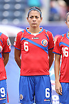 24 October 2014: Carol Sanchez (CRC). The Costa Rica Women's National Team played the Trinidad & Tobago Women's National Team at PPL Park in Chester, Pennsylvania in a 2014 CONCACAF Women's Championship semifinal game, which serves as a qualifying tournament for the 2015 FIFA Women's World Cup in Canada. Costa Rica advanced to the championship game, and qualified for next year's Women's World Cup, by winning the penalty shootout 3-0 after the game ended in a 1-1 tie after double overtime.