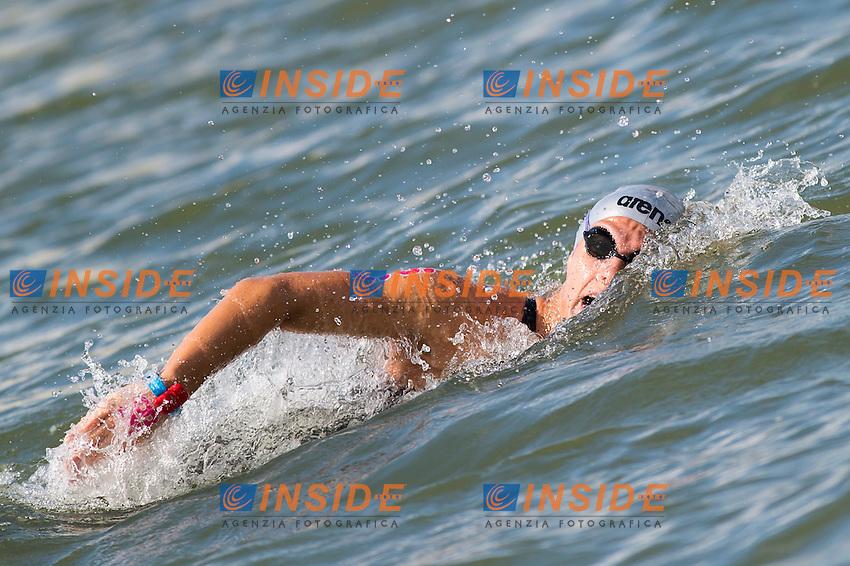 GABBRIELLESCHI Giulia ITA<br /> Hoorn, Netherlands <br /> LEN 2016 European Open Water Swimming Championships <br /> Open Water Swimming<br /> Women's 5km<br /> Day 02 12-07-2016<br /> Photo Giorgio Perottino/Deepbluemedia/Insidefoto