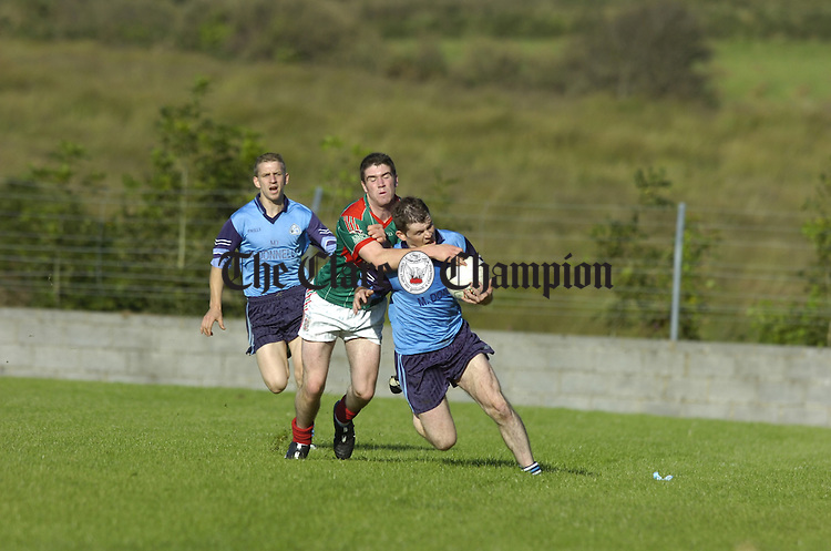 Football Cooraclare v Kilmurry Ibrickane at Kilmihil