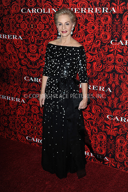 www.acepixs.com<br /> <br /> December 6 2016, New York City<br /> <br /> Carolina Herrera arriving at An Evening Honoring Carolina Herrera at Alice Tully Hall at the Lincoln Center on December 6, 2016 in New York City.<br /> <br /> By Line: Kristin Callahan/ACE Pictures<br /> <br /> <br /> ACE Pictures Inc<br /> Tel: 6467670430<br /> Email: info@acepixs.com<br /> www.acepixs.com
