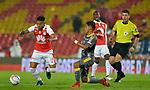 Independiente Santa Fe venció 1-0 a Independiente Medellín. Fecha 10 Liga Águila I-2018.