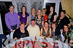 Enjoying their christmas party at the Listowel Arms Hotel on Saturday the Staff of Ballyduff Central National School.  Front l-r Marie Lucid, Pat Walsh, Maura Enright, Susan Walsh, A?ine Corridan.  Back l-r Richie Power, No?ra falvey, Martina Rochford, Pat Lucid, Mary Dowling, Marie O'Carroll and Anne Lucid.   Copyright Kerry's Eye 2008