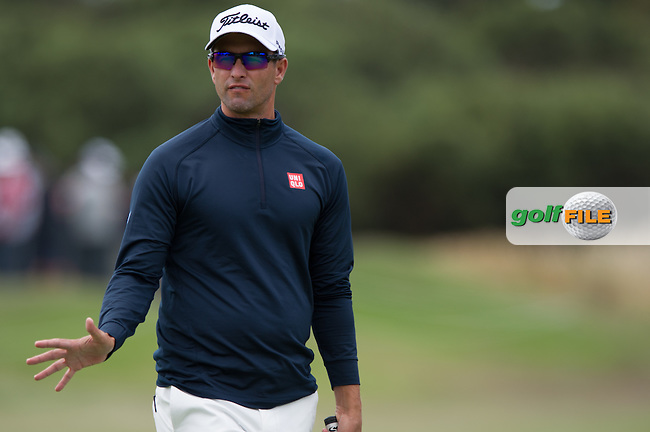 Adam Scott (AUS)during the ISPS Handa World Cup of Golf, from Kingston heath Golf Club, Melbourne Australia. 24/11/2016<br /> Picture: Golffile   Anthony Powter<br /> <br /> <br /> All photo usage must carry mandatory copyright credit (&copy; Golffile   Anthony Powter)