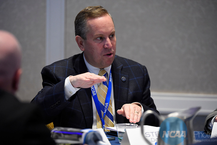 15 JAN 2015:  The NCAA Division II Management Council/Presidents Council Meeting takes place during the 2015 NCAA Convention held at the Gaylord National Resort and Convention Center in National Harbor, MD.  Jamie Schwaberow/NCAA Photos