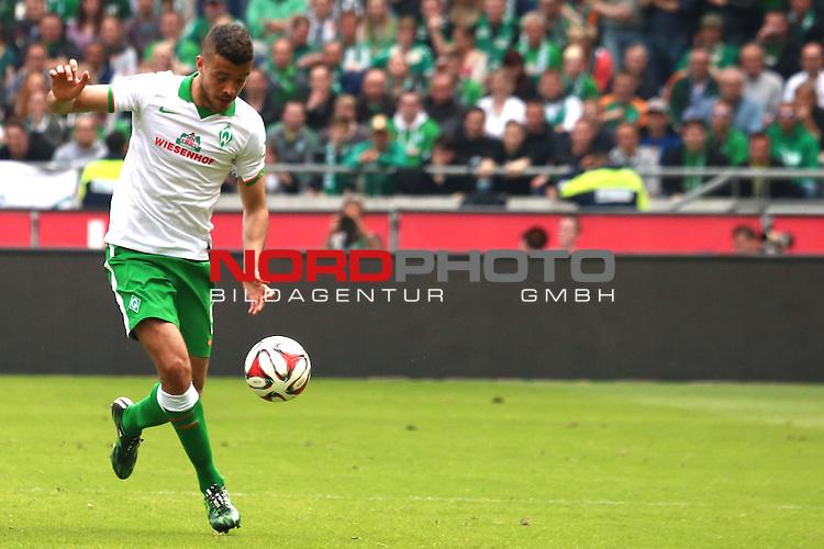 09.05.2015, HDI Arena, Hannover, GER, 1.FBL, Hannover 96 vs SV Werder Bremen im Bild <br /> <br /> Franco Di Santo (Bremen #9)<br /> <br /> Foto &copy; nordphoto / Rust