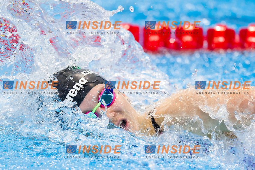 CUSINATO Ilaria ITA<br /> London, Queen Elizabeth II Olympic Park Pool <br /> LEN 2016 European Aquatics Elite Championships <br /> Swimming<br /> Women's 200m medley preliminary  <br /> Day 10 18-05-2016<br /> Photo Giorgio Perottino/Deepbluemedia/Insidefoto