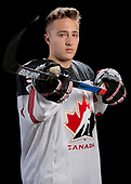 MEDICINE HAT, AB - Oct 31 2019: Canada White during the 2019 World Under-17 Challenge at the Canalta Centre on Oct 31 2019 in Medicine Hat, Alberta, Canada. (Photo by Matthew Murnaghan/Hockey Canada Imaghes)