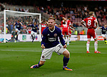Mark Duffy of Sheffield Utd celebrates the equalising goal during the Championship match at the Riverside Stadium, Middlesbrough. Picture date: August 12th 2017. Picture credit should read: Simon Bellis/Sportimage