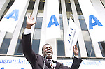 The Gazette. County Executive for Prince George's County Jack B. Johnson announces the county's 'AAA' Bond Rating during a celebration at the County Administration Building in Upper Marlboro on Tuesday morning.