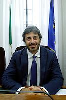 Roberto Fico, presidente della commissione di vigilanza RAI<br /> Roma 04-08-2015 Camera. Riunione della Commissione di vigilanza RAI per la designazione di sette membri del cda Rai.<br /> Photo Samantha Zucchi Insidefoto