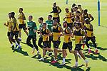 Getafe's team during training session. June 5,2020.(ALTERPHOTOS/Acero)