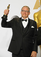 28 February 2016 - Hollywood, California - Adam McKay. 88th Annual Academy Awards presented by the Academy of Motion Picture Arts and Sciences held at Hollywood & Highland Center. Photo Credit: Byron Purvis/AdMedia