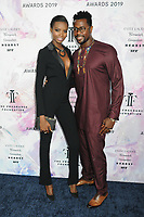05 June 2019 - New York, New York - Maria Borges and Duke Mandinga. 2019 Fragrance Foundation Awards held at the David H. Koch Theater at Lincoln Center.    <br /> CAP/ADM/LJ<br /> ©LJ/ADM/Capital Pictures