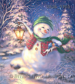 Dona Gelsinger, CHRISTMAS SANTA, SNOWMAN, classical, paintings(USGE0905,#X#) Weihnachtsmänner, Papá Noel, Weihnachten, Navidad, illustrations, pinturas klassisch, clásico