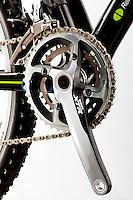 2011 Shimano XTR on a Fuji SLM mountain bike. Detail shot from Fuji catalog shoot.