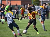 20190914– MECHELEN , BELGIUM : KV Mechelen and OHL players are pictured during the U16s Elite League match between KV Mechelen and Oud Heverlee Leuven on Saturday 14th 2019 at the KV Mechelen Youth Complex in Mechelen , Belgium. PHOTO SPORTPIX.BE | Sevil Oktem