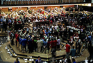 Chicago, U.S.A, 5th, December, 1988. The Chicago Merchantile Market is a trading platform for the world's commodities.