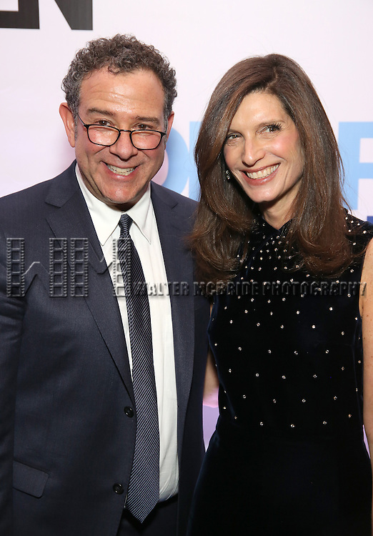 Michael Greif and Stacey Mindich attends the Broadway Opening Night After Party for 'Dear Evan Hansen'  at The Pierre Hotel on December 3, 2016 in New York City.