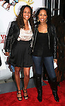 Guiding Light's Yvonna Wright and Kim Brockington attend the premiere of Tyler Perry's Why Did I Get Married Too? on March 22, 2010 at the School Of Visual Ats Theater, New York City, NY. (Photos by Sue Coflin/Max Photos)