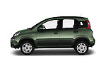 Car Driver side profile view of a 2016 Fiat Panda-4X4 Pop 5 Door Hatchback Side View