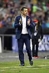 WASHINGTON, DC - MARCH 07: France head coach Olivier Echouafni. The United States Women's National Team hosted the France Women's National Team as part of the SheBelieves Cup on March 7, 2017, at RFK Stadium in Washington, DC. France won the game 3-0.